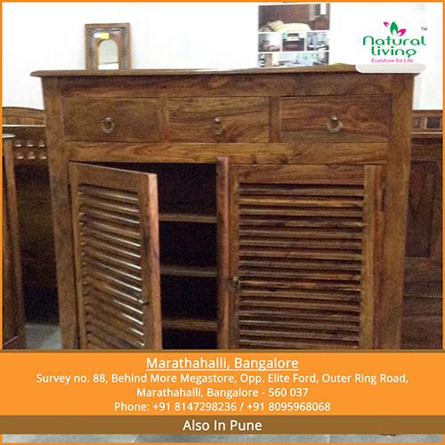 Natural Living Furniture- Wooden Sheesham Hardwood Rosewood