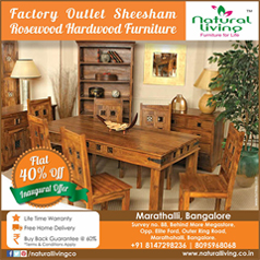 wooden furniture offer