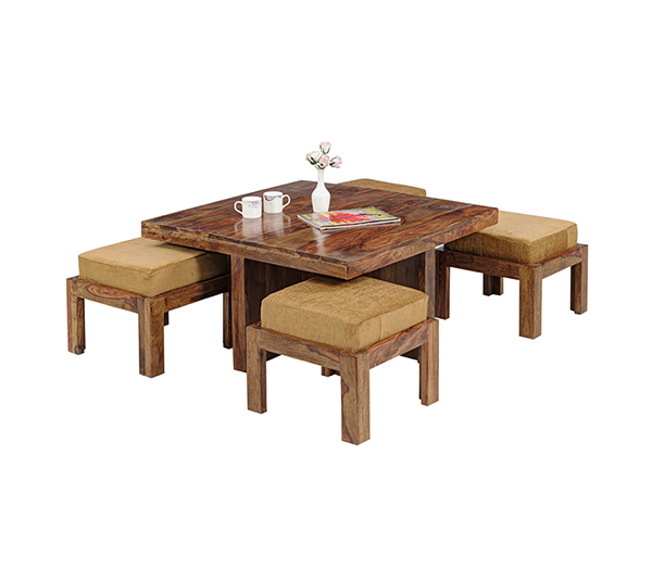 Natural living furniture wooden sheesham hardwood for Buy furniture online bangalore